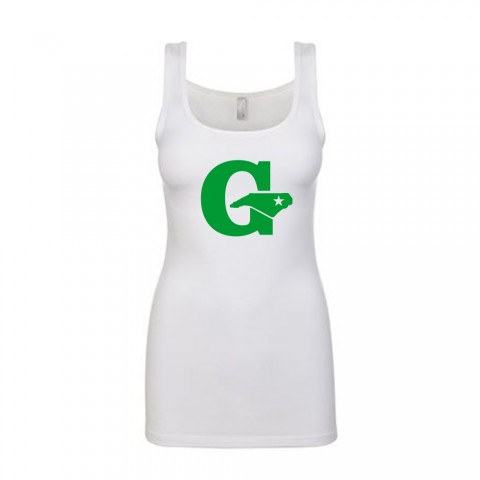 GLL All Stars Ladies Tank Top | White