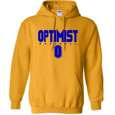 Optimist Cotton Hoodie | Gold