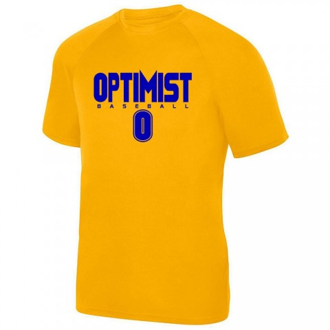 Optimist Basic Performance Tee | Gold