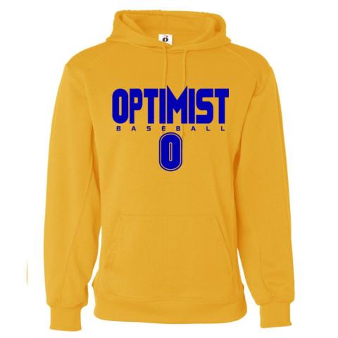 Optimist Solid Performance Hoodie | Gold