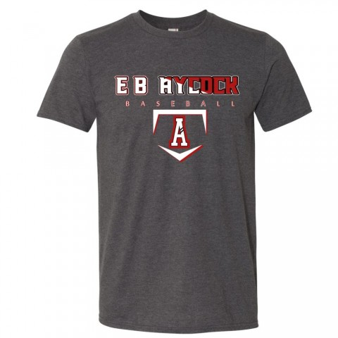E B Aycock Baseball Cotton Tee | Multiple Colors