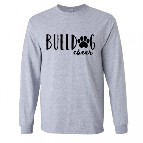 CM Eppes Long-Sleeve Cotton Tee | Cheer | Multiple Colors
