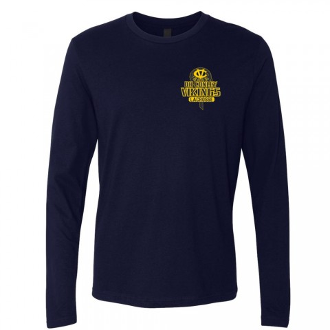 DH Conley Lacrosse Long-Sleeve T-Shirt | Small Logo | Multiple Colors