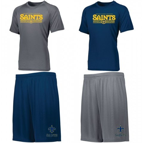 JPII PE Saver Pack   2 Shirts, 2 Shorts   Order Together and Save