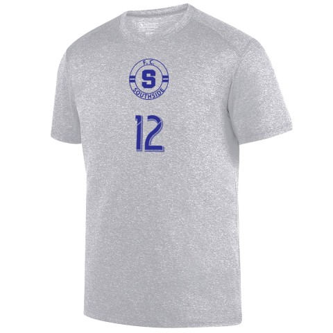 FC Southside Kinergy Performance Tee   Heather Silver