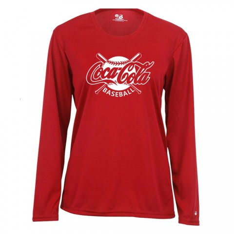 Coke | Ladies Long-Sleeve Performance Tee