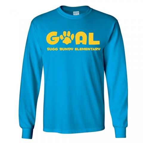 Sugg Bundy Elementary School Long-Sleeve Tee | Goals