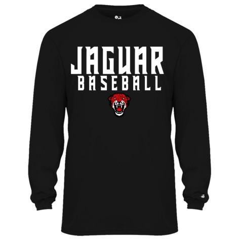 Jaguar Baseball Long-Sleeve Performance Tee | Multiple Colors