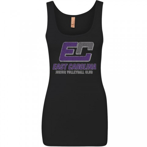 ECJVC Distressed Jersey Tank Top