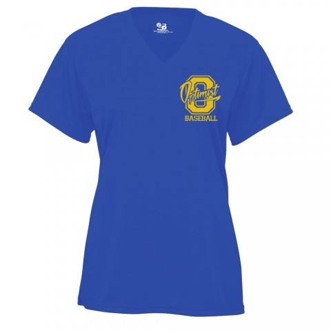 Optimist  Ladies V-Neck Performance Tee | Small Logo