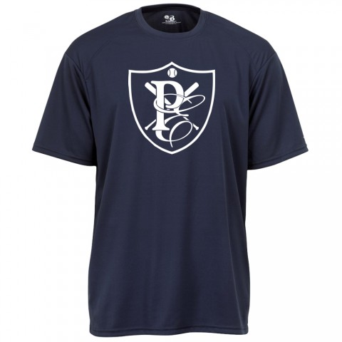 Physicians East Basic Performance Tee | PE Shield Navy