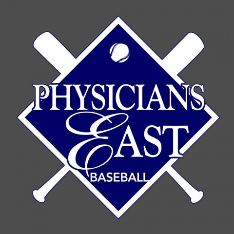 Physicians East Baseball Car Window Sticker