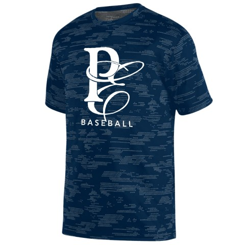 Physicians East Sleet Performance Tee | PE Baseball Logo