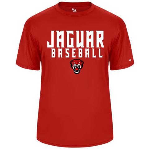 Jaguar Baseball Short-Sleeve Performance Tee | Multiple Colors