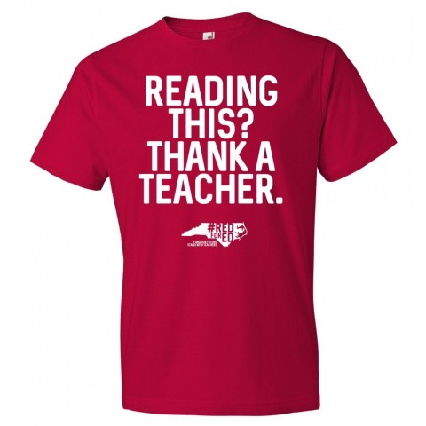 Teacher Tees | Red for Ed | Multiple Design Options