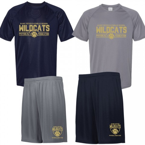 Saint Peter PE Saver Pack | 2 Shirts, 2 Shorts | Order Together and Save
