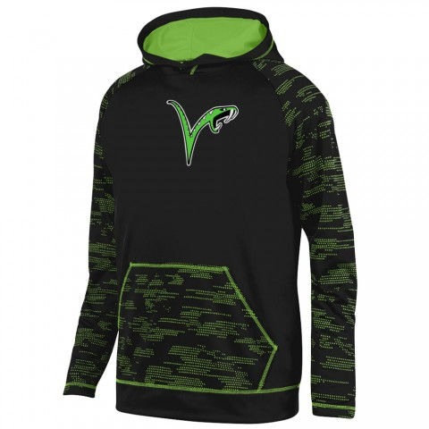 Vipers Sleet Performance Hoodie | Small Logo