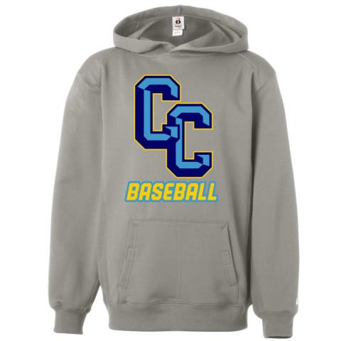 C&C Baseball Fleece Performance Hoodie