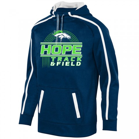 Hope Track & Field Stoked Tonal Heather Performance Hoodie | Youth & Adult Sizes