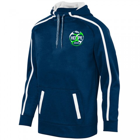 Hope Soccer Stoked Tonal Heather Performance Hoodie   Ball Logo   Youth & Adult Sizes