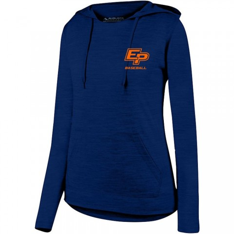 Eastern Plumbing Ladies Tonal Heather Hooded Performance Tee