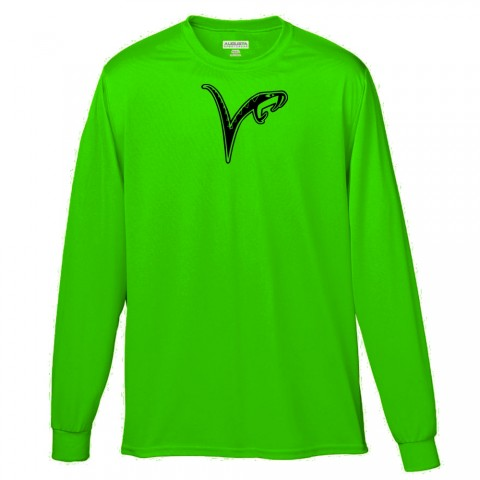 Vipers Long-Sleeve Performance Tee | Viper Green