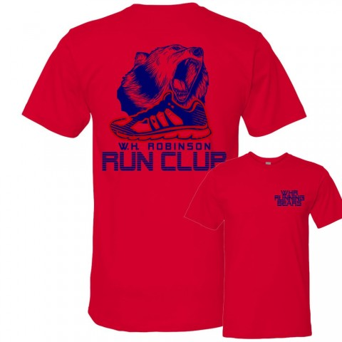 2019 W.H. Robinson Run Club T-Shirts | Cotton or Performance Options | Order Deadline March 15
