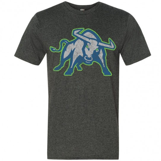 East Carolina Mavericks Triblend Tee | Distressed Bull | Multiple Colors