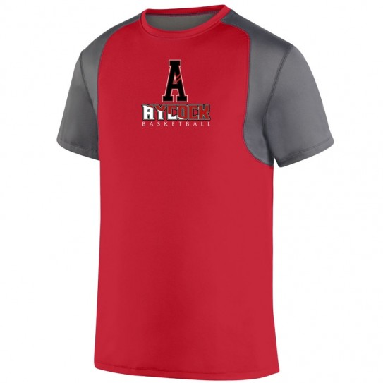 EB Aycock Basketball Short-Sleeve Raglan Performance Tee