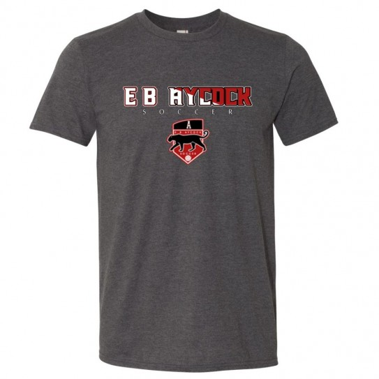 E. B. Aycock Soccer Word Logo Tee | Multiple Colors