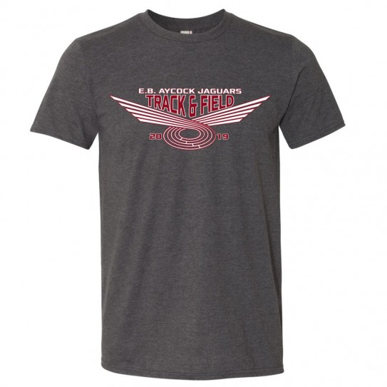E. B. Aycock Track & Field Cotton Tee | Multiple Colors