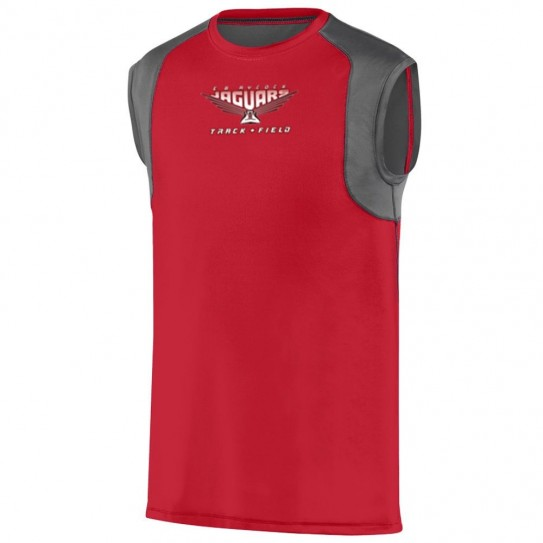 EB Aycock Track & Field Sleeveless Raglan Performance Tee