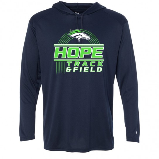 Hope Track & Field Hooded Performance T-Shirt | Multiple Styles