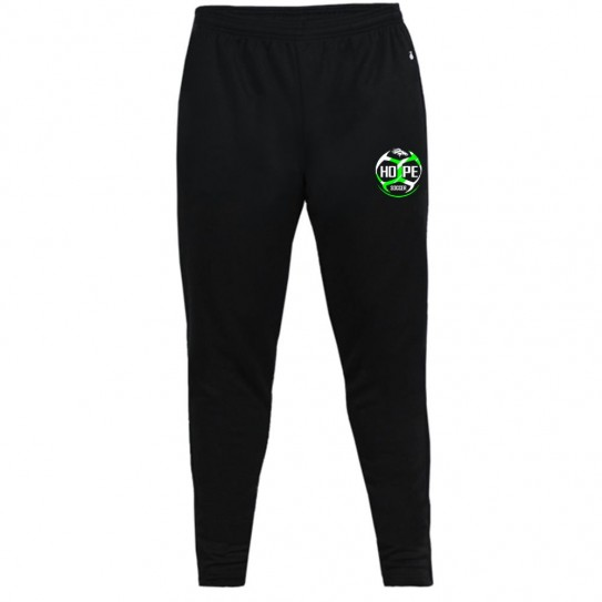 Hope Soccer Trainer Pants Joggers | Black