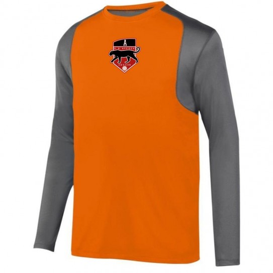 EB Aycock Soccer Raglan Long-Sleeve Keeper Jersey Performance Tee | Multiple Colors