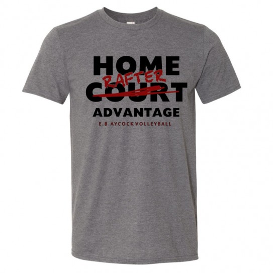 EB Aycock Volleyball Cotton Tee | Home Rafter | Multiple Colors