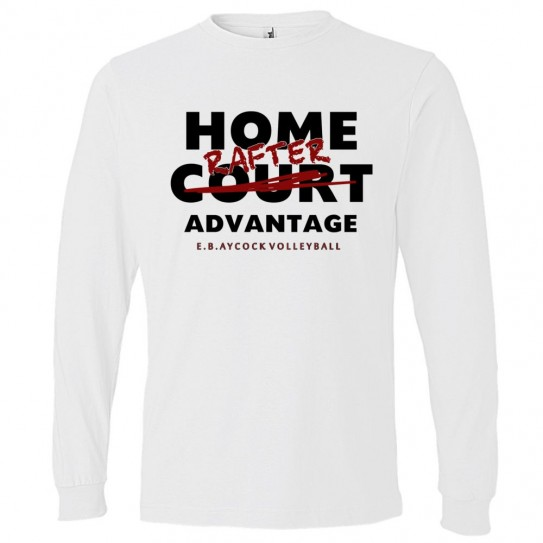 EB Aycock Volleyball Long-Sleeve Cotton Tee | Home Rafter | Multiple Colors